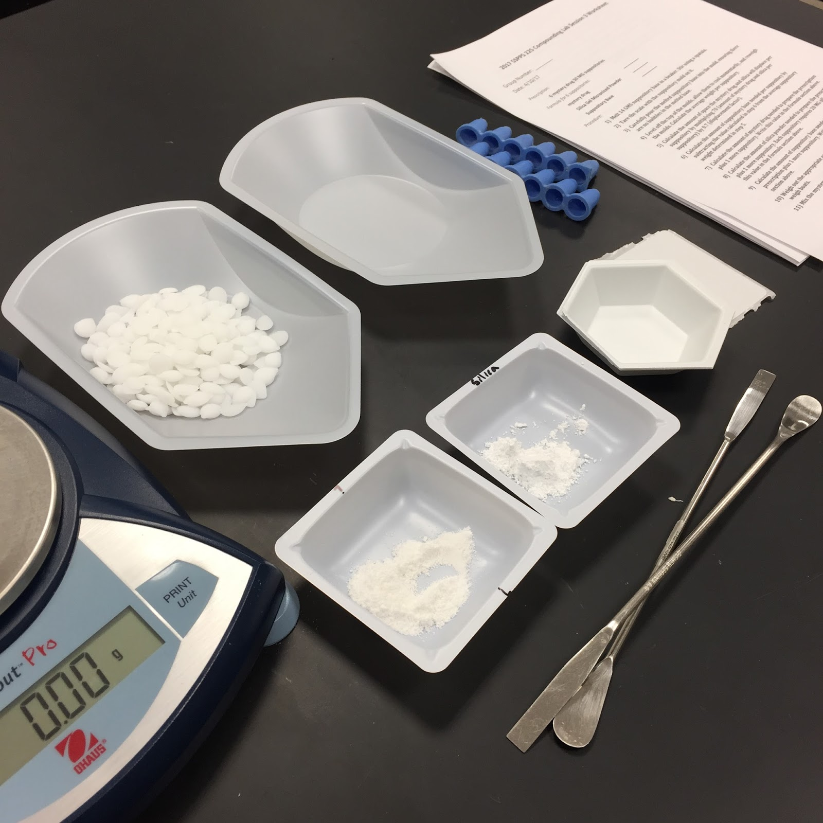 dosage forms lab_adrienne Nguyen_UCSD_school of pharmacy_how to make suppositories_drugs_pharmacist