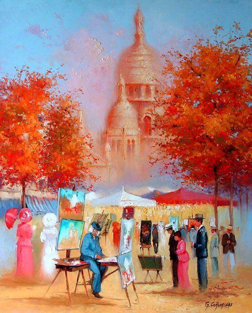 George Corominas ~ O pintor das cores brilhantes ~ Francês