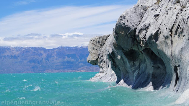 Catedrales de Marmol, Lago Carreras, costo, excursion, paseo, bote, lanchaa