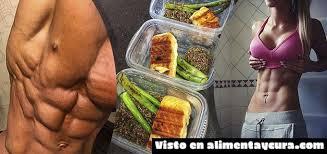 plan nutricional para ganar musculo y perder grasa