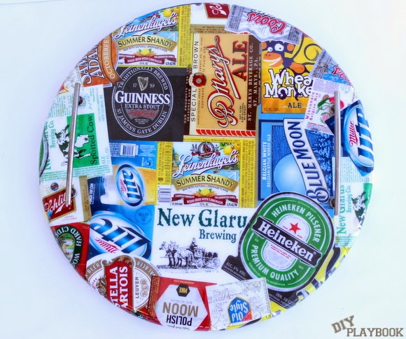 How to make a beer tray