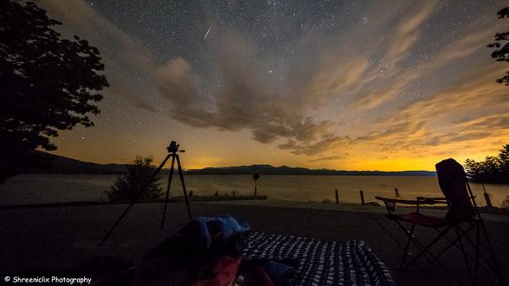fotos da chuva de meteoros perseidas 7