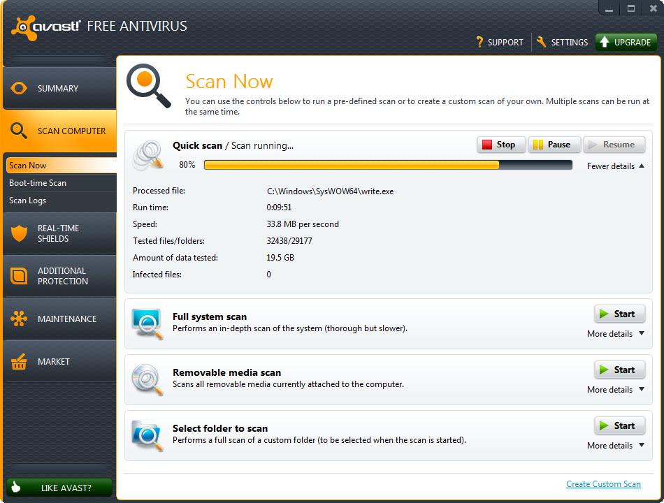 descargar avast free antivirus 2018 full