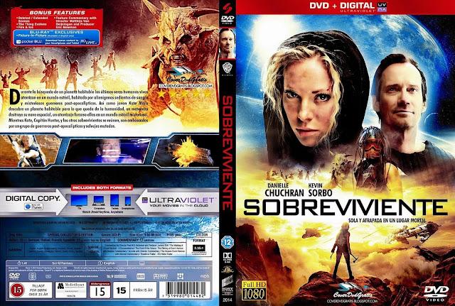 Capa DVD Sobrevivente