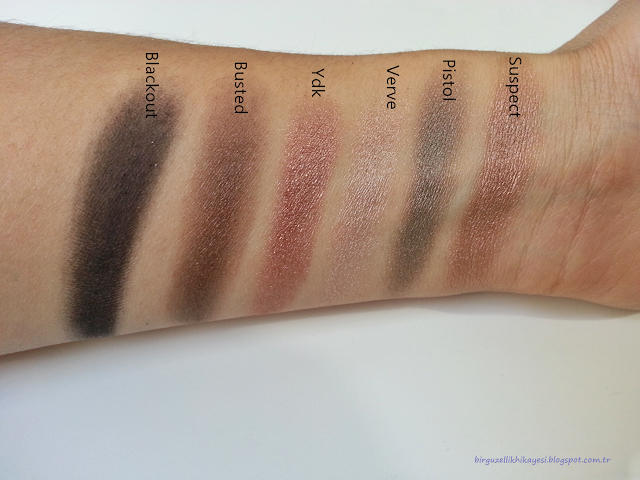 urban decay naked far paleti renkler