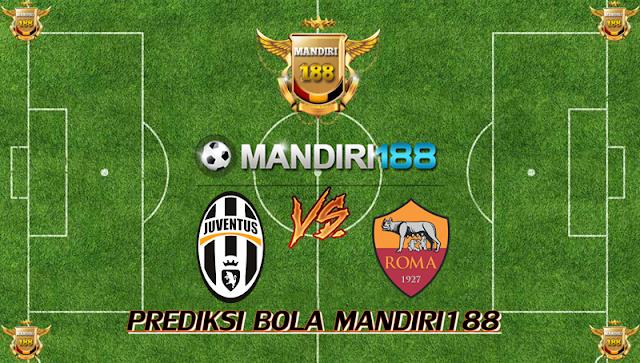 AGEN BOLA - Prediksi Juventus vs AS Roma 24 Desember 2017