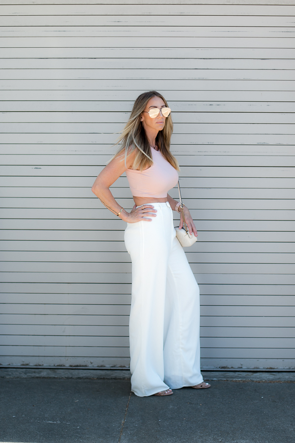 wide leg white pants parlor girl