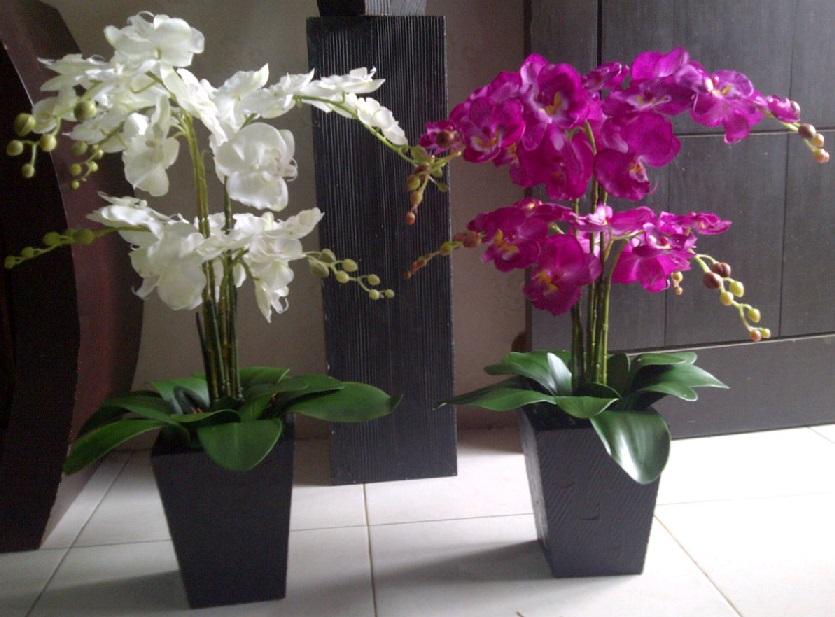 Bunga Hias Di Ruang Tamu