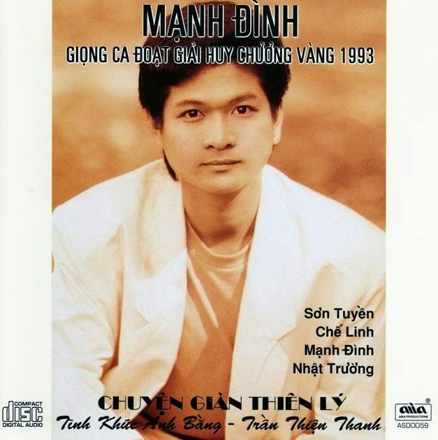 Kết quả hình ảnh cho Various Artists - Chuyen Gian Thien Ly - Tinh Khuc Anh Bang - Tran Thien Thanh (1994) [FLAC] {AsiaCD059}