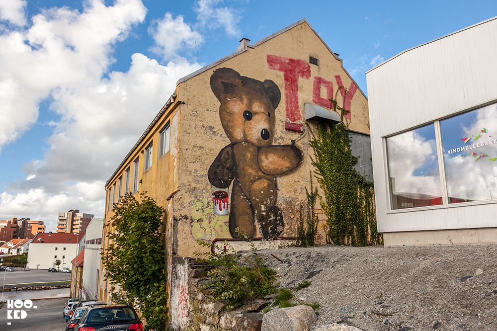 Street Art Mural in Stavanger, Norway