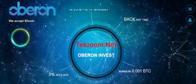 [SCAM] [OberonInvest][13/11/2016] HYIP - PAY - Đầu tư tối thiểu 0.001 BTC - Thanh toán tức thì