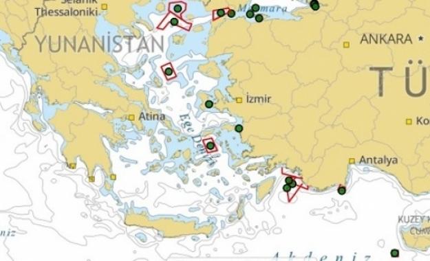 Μπαράζ τουρκικών προκλήσεων από την Θάσο μέχρι και την Κυπριακή ΑΟΖ