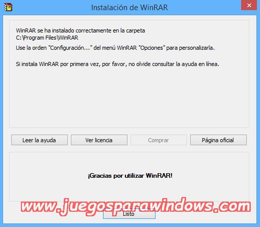 WinRAR v5.40 FINAL Full PC ESPAÑOL (32 y 64 Bits) 5