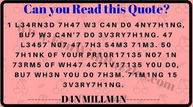 Fun reading riddle