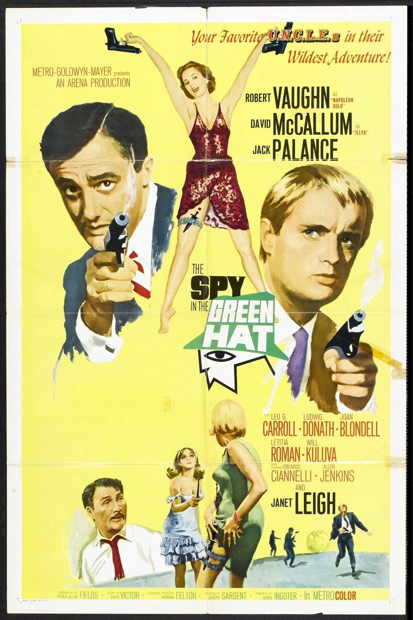 Pop Focus: 1960s Man from U.N.C.L.E. movie posters
