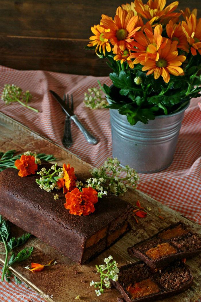 battenberg-cake, carrot-battenberg-cake, carrot-cake, pastel-battenberg, pastel-de-zanahoria-y-chocolate