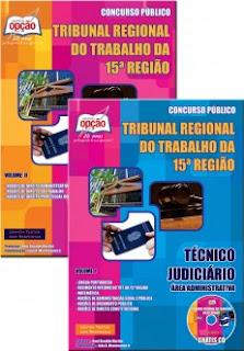 Apostila TRT 15ª região 2017 - Técnico Judiciário - Área Administrativa