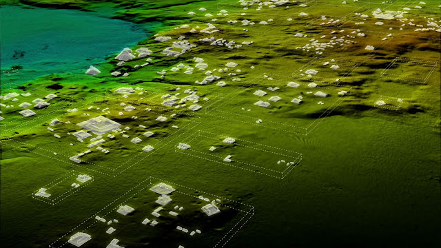 Maya metropolis discovered with LIDAR