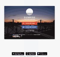 web kalender keren ulangtahun kerja sunrise calendar