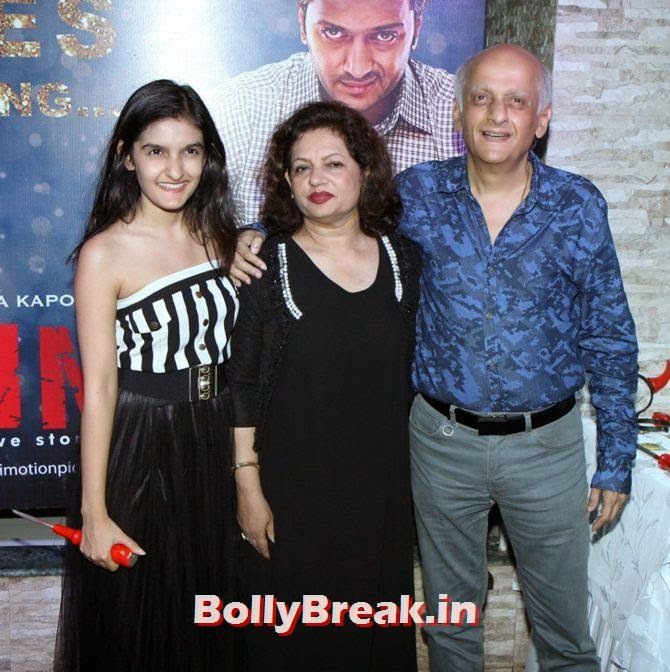 Mukesh Bhatt, Alia, Sonakshi, Shraddha party with Ek Villain team