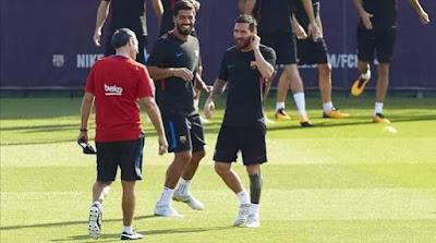 أخبار برشلونة اليوم - فوز مريح في دوري الأبطال وميسي يسجل الهدف رقم ١٠٠ أوروبيًا