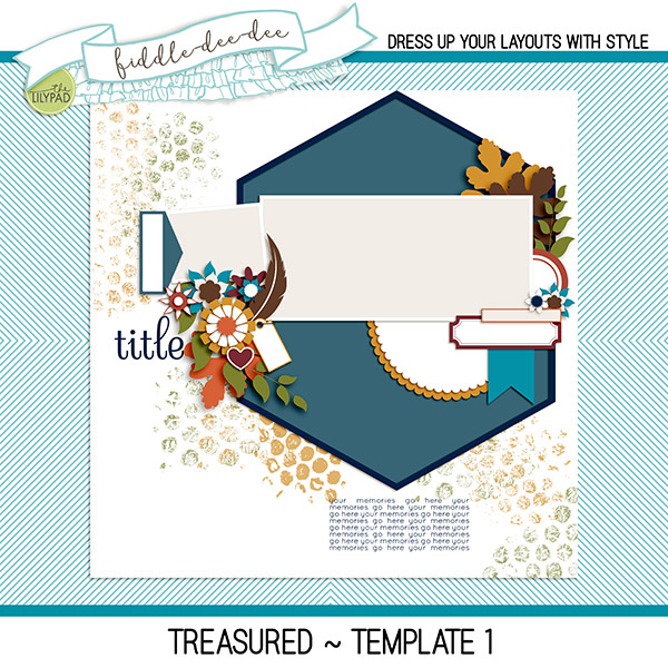 The Lilypad BLOG HOP for DSD 2017 ~ Treasured
