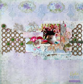 layout by Marina Gridasova @akonitt #layout #eyeletoutlet #enamels #by_marina_gridaova #enameldots #glitterenameldots #bling