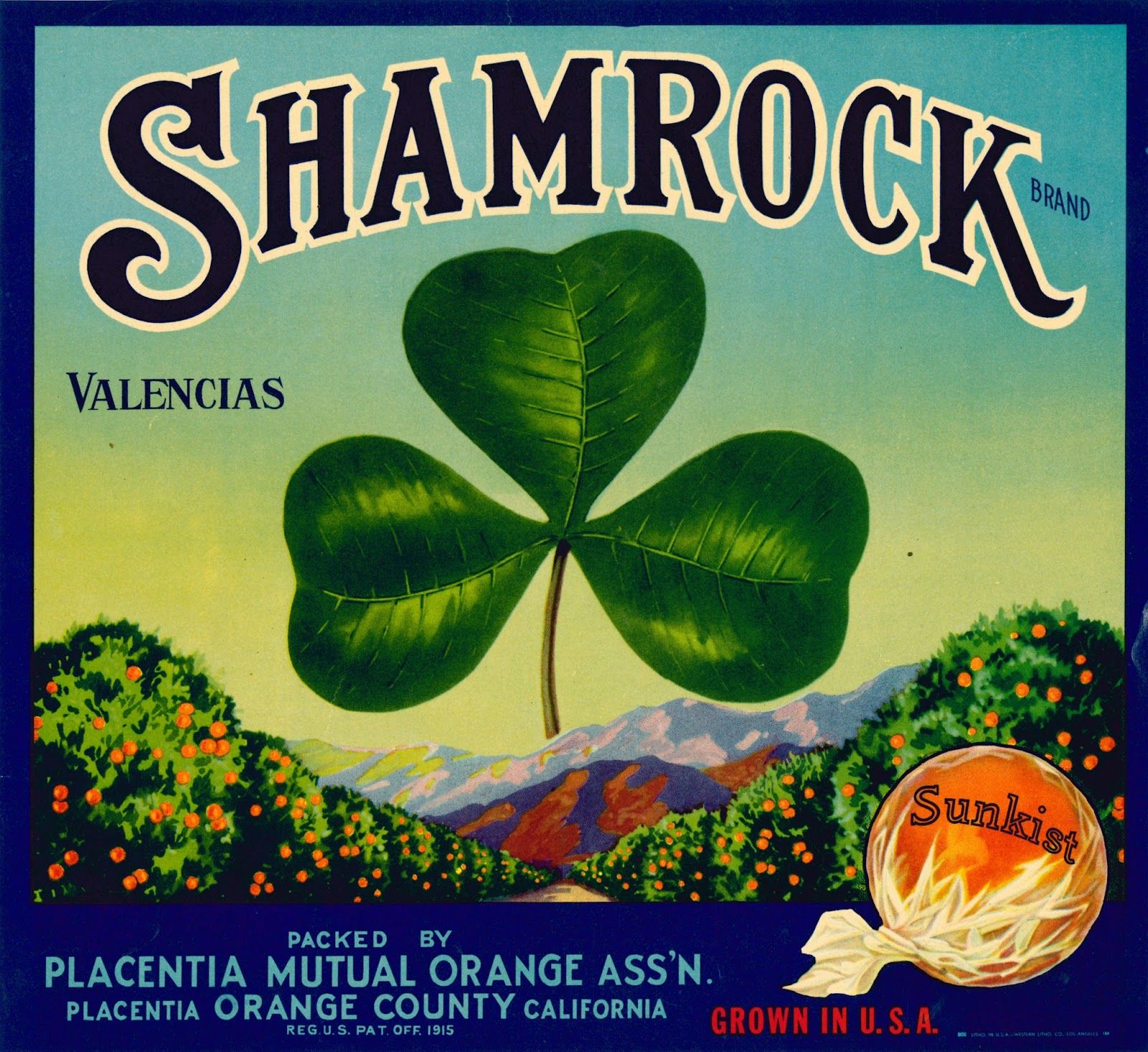 Shamrocks for a Glam Box: Placentia Mutual's Signature Brand