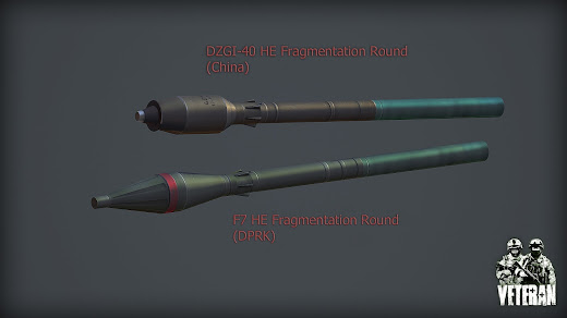 Arma3用Veteran MODのRPG-7用の新しいりゅう弾