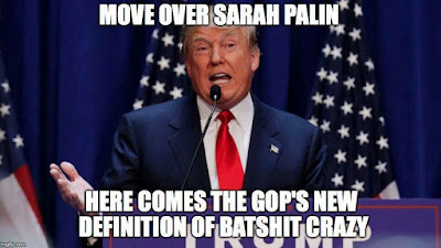 Donald Trump meme - mover over Sarah Palin funny picture