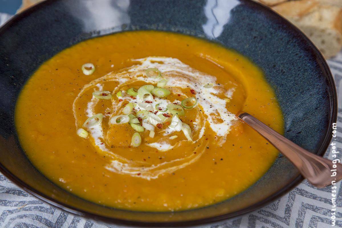 Kurbis kartoffel karotten suppe rezept