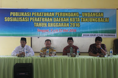 Kemenag Tanjungbalai Jadi Narasumber Perda Kota Tanjungbalai
