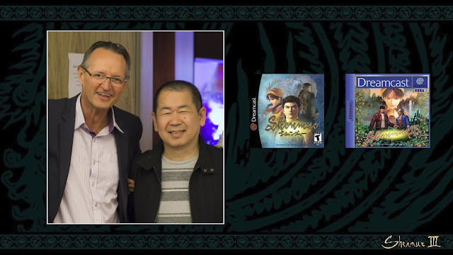 Slide from the presentation showing co-founder and CEO of Koch Media Dr. Klemens Kundratitz (left) with creator and head of YS Net Yu Suzuki (right).