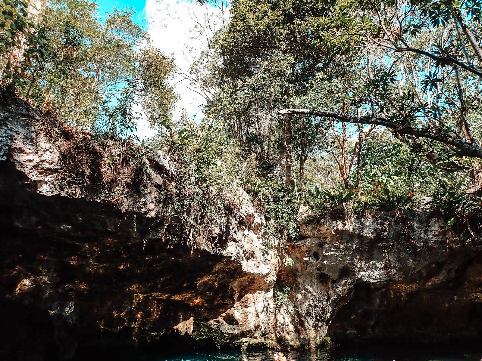 gran cenote est un puit d'eau douce à Tulum