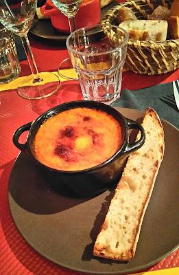 Cass Poï, restaurant, Noirmoutier, oeuf cocotte, bullelodie