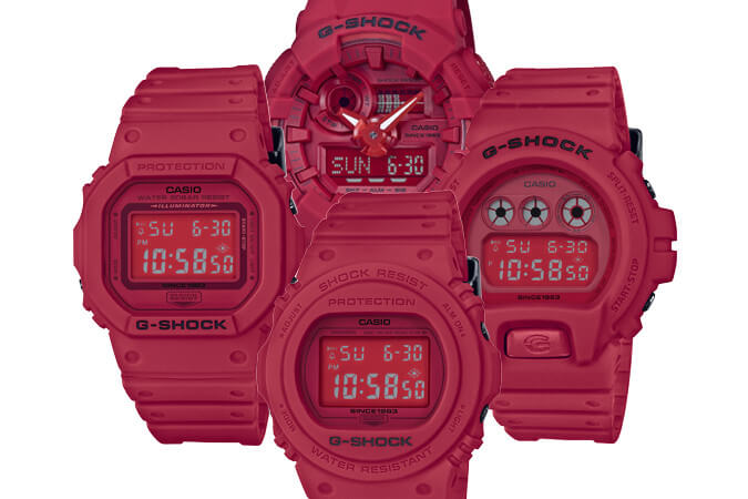 Berapa Harga G-Shock 35th Anniversary Red Out Collection Malaysia
