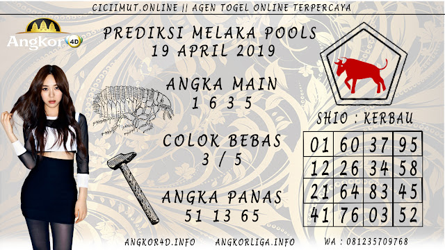 Prediksi Angka Jitu MELAKA POOLS 19 APRIL 2019