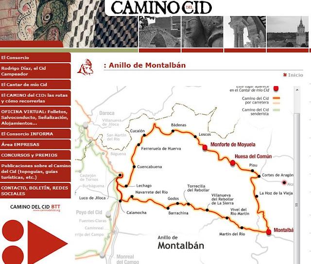 http://www.caminodelcid.org/Camino.aspx?Rama=20&Eje=1&Tramo=27