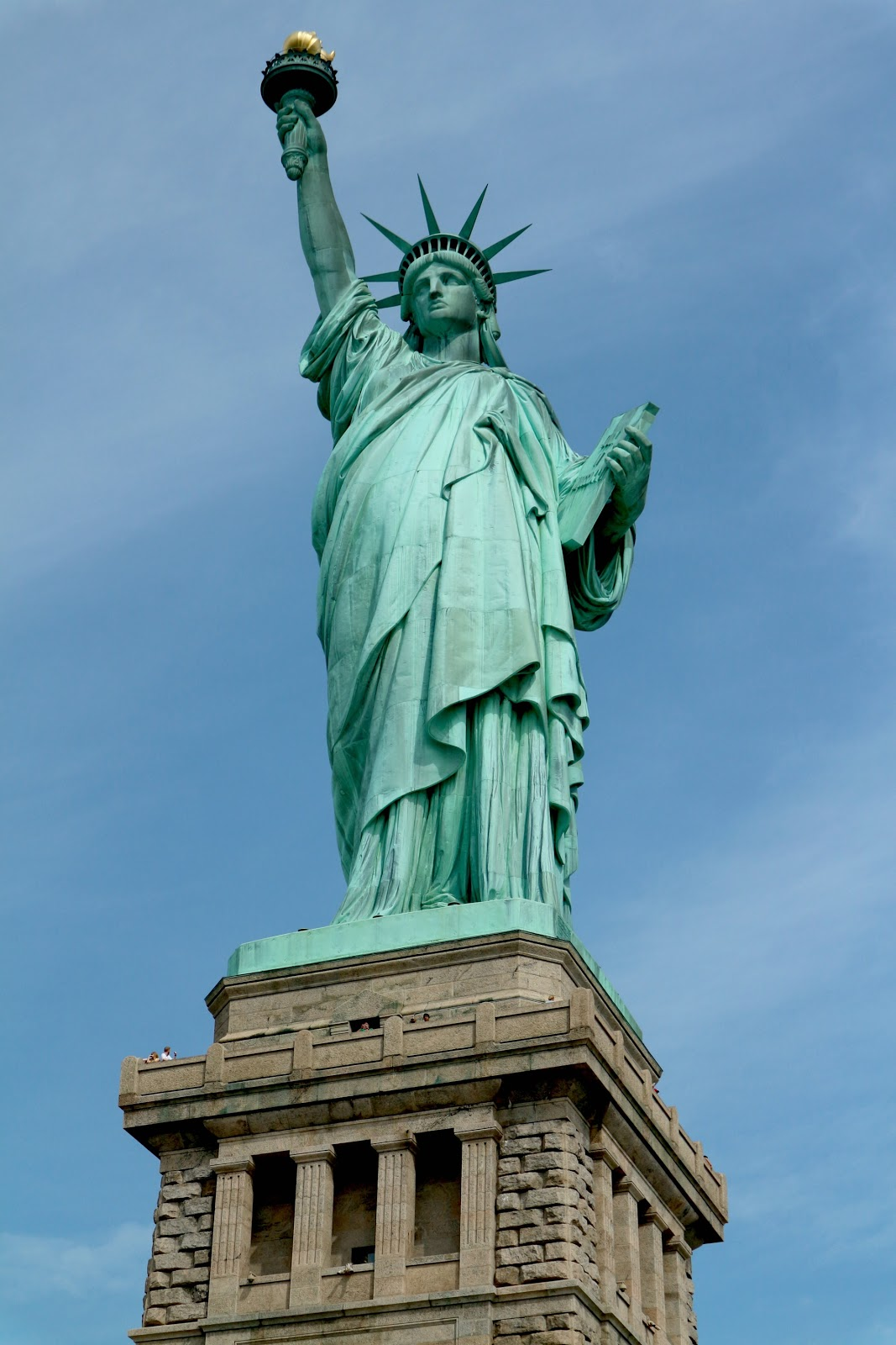 best time to see Statue of liberty