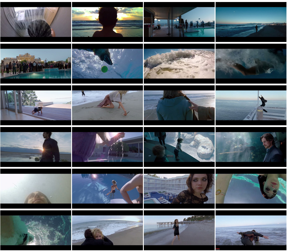 Terrence Malick Knight of Cups Trailer Water Element