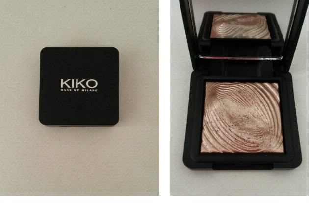 Water eyeshadow KIKO champagne 200