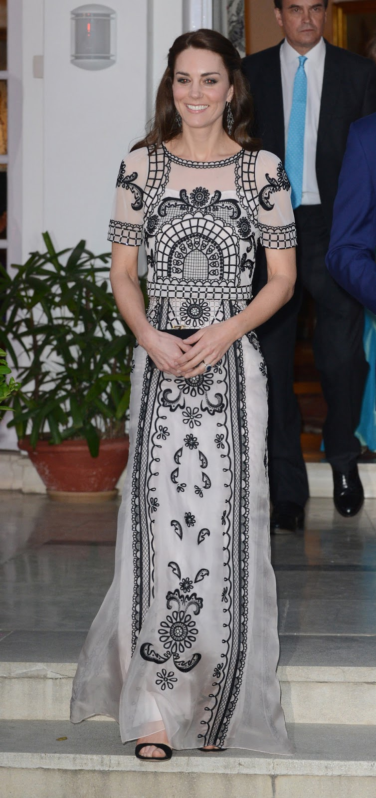 Kate Middleton opted for a £3000 Alice Temperley dress for Delhi Garden Party
