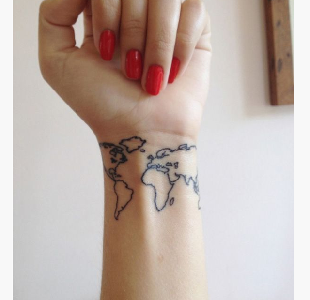10 CUTE TATTOOS FOR LADIES WRIST