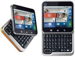 hape aneh Motorola Flipout (ponsel kotak)