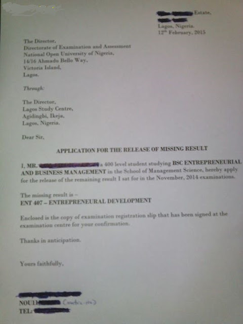 How To Write An Application Letter In Nigeria To Make Sure You'll Get A Job