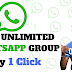 FREE JOIN UNLIMITED WHATSAPP GROUP ONLY ONE CLICK BY EMT SOLUTION