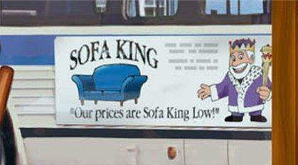 Funny Sofa King Low Sign Picture