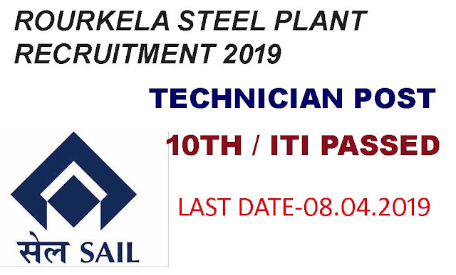 jobs in rourkela, rourkela steel plant recruitment 2019,sail recruitment 2019,rourkela steel plant job,sail vacancy for iti