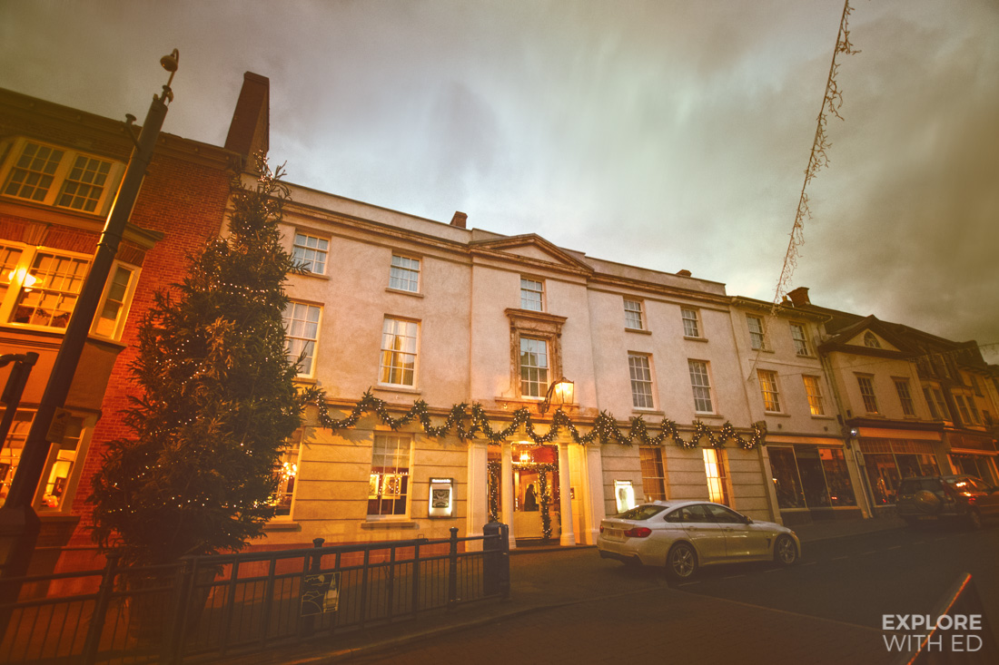 The Angel Hotel in Abergavenny