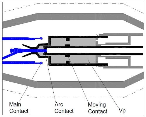 Main-contact-open-SF6-Circuit-Breaker